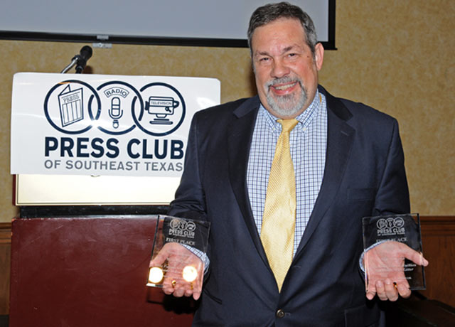 Dr. Mike Fuljenz Honored With Press Club Awards
